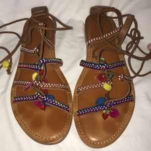 Mossimo Festive Sandals Size 9.5